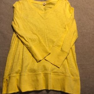 3/4 length yellow tunic - perfect condition